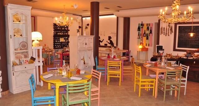 Tavoli ristorante Santa Lucia Riccione